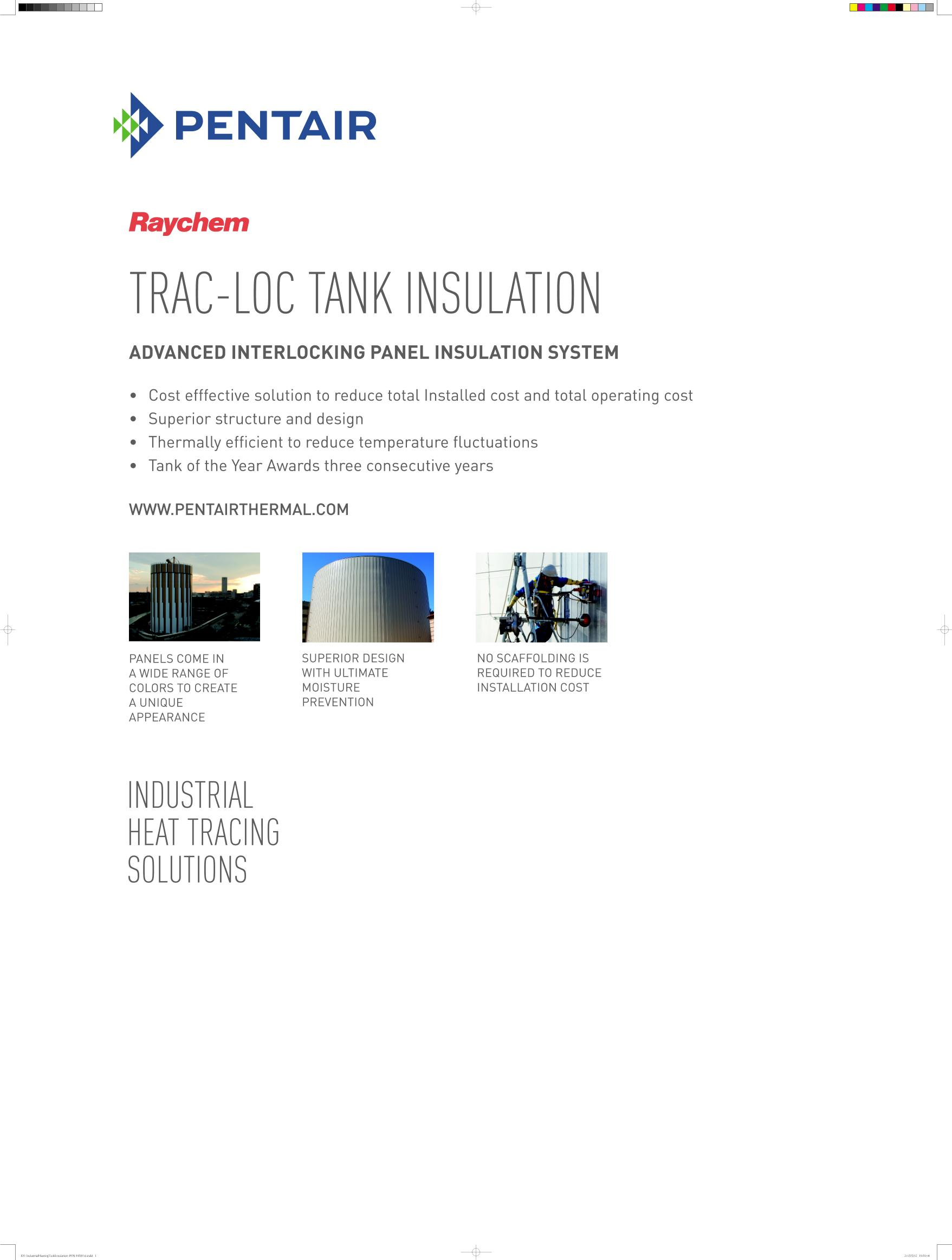 Industrial Heating Tank Insulation