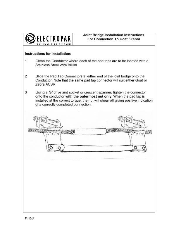 FI.10-A-Joint Bridge Installation Instructions